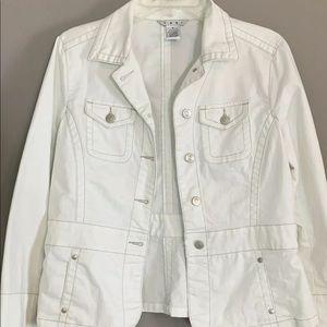 CAbi Jean jacket size M